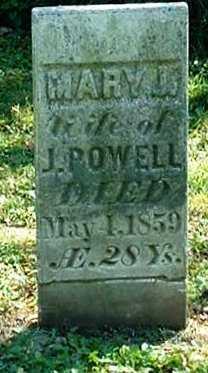 POWELL, MARY J. - Jasper County, Iowa | MARY J. POWELL