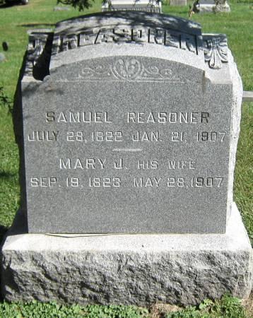 REASONER, MARY J. - Jasper County, Iowa | MARY J. REASONER