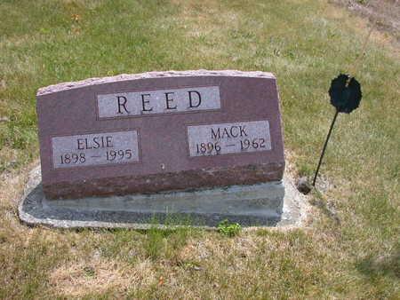 REED, ELSIE - Jasper County, Iowa | ELSIE REED