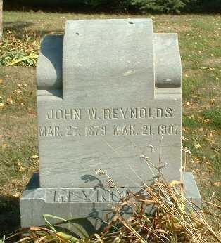 REYNOLDS, JOHN W. - Jasper County, Iowa | JOHN W. REYNOLDS