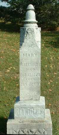 LINDER REYNOLDS, MARY - Jasper County, Iowa | MARY LINDER REYNOLDS