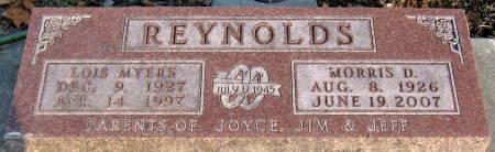 MYERS REYNOLDS, LOIS - Jasper County, Iowa | LOIS MYERS REYNOLDS