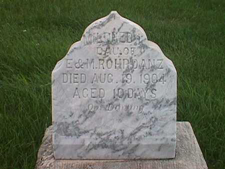 ROHRDANZ, MILDRED I. - Jasper County, Iowa | MILDRED I. ROHRDANZ