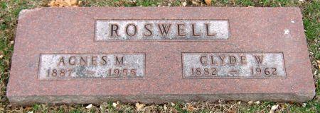 ROSWELL, CLYDE W. - Jasper County, Iowa | CLYDE W. ROSWELL