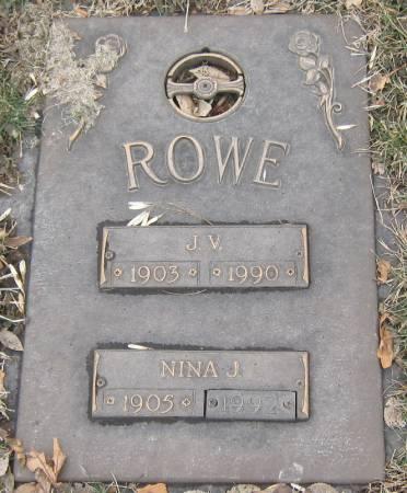 ROWE, JEROME V. - Jasper County, Iowa   JEROME V. ROWE