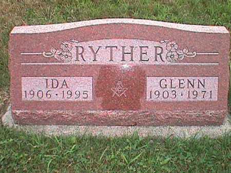 MICK RYTHER, IDA MAE - Jasper County, Iowa | IDA MAE MICK RYTHER
