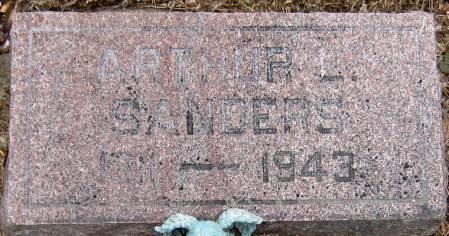 SANDERS, ARTHUR L. - Jasper County, Iowa | ARTHUR L. SANDERS