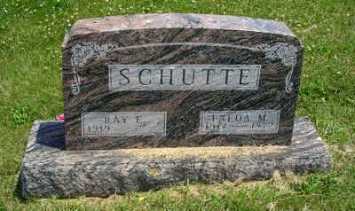 SCHUTTE, FREDA M - Jasper County, Iowa   FREDA M SCHUTTE