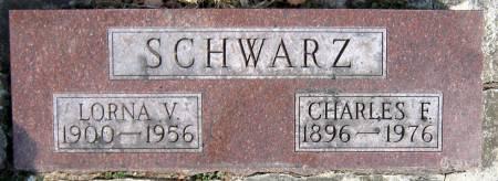 SCHWARZ, LORNA VIOLA - Jasper County, Iowa | LORNA VIOLA SCHWARZ