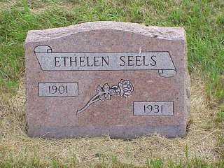 SEELS, ETHELEN - Jasper County, Iowa | ETHELEN SEELS