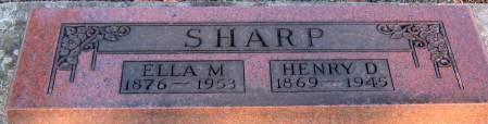 SHARP, ELLA MARIE - Jasper County, Iowa | ELLA MARIE SHARP