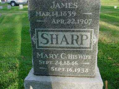 SHARP, MARY C - Jasper County, Iowa | MARY C SHARP