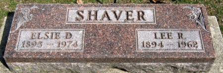SHAVER, ELSIE D. - Jasper County, Iowa | ELSIE D. SHAVER