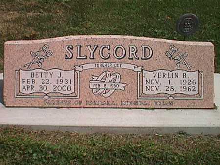 SLYCORD, BETTY JEAN - Jasper County, Iowa | BETTY JEAN SLYCORD
