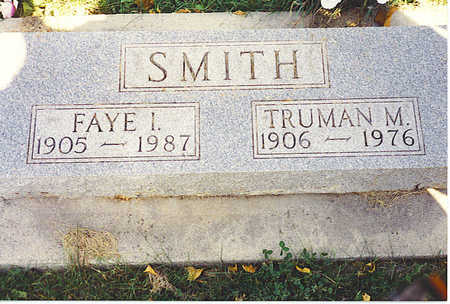SMITH, FAYE - Jasper County, Iowa | FAYE SMITH