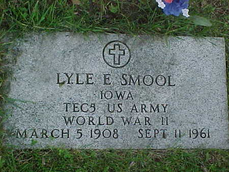 SMOOL, LYLE - Jasper County, Iowa | LYLE SMOOL