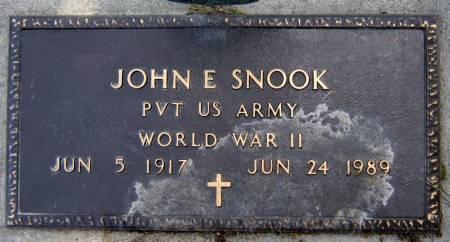 SNOOK, JOHN E. - Jasper County, Iowa | JOHN E. SNOOK