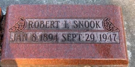 SNOOK, ROBERT I. - Jasper County, Iowa | ROBERT I. SNOOK