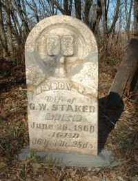 STAKER, NANCY C. - Jasper County, Iowa   NANCY C. STAKER
