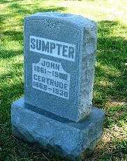 SUMPTER, JOHN J. - Jasper County, Iowa   JOHN J. SUMPTER