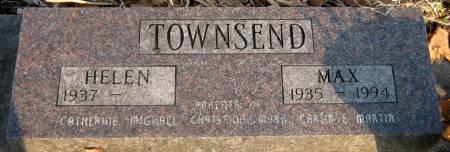 TOWNSEND, MAX E. - Jasper County, Iowa   MAX E. TOWNSEND
