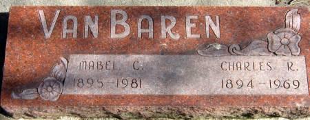 EATON VAN BAREN, MABEL C. - Jasper County, Iowa | MABEL C. EATON VAN BAREN