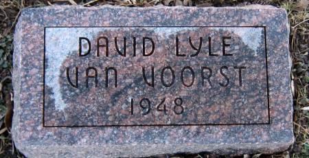 VAN VOORST, DAVID LYLE - Jasper County, Iowa   DAVID LYLE VAN VOORST