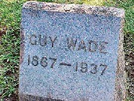 WADE, GUY - Jasper County, Iowa | GUY WADE