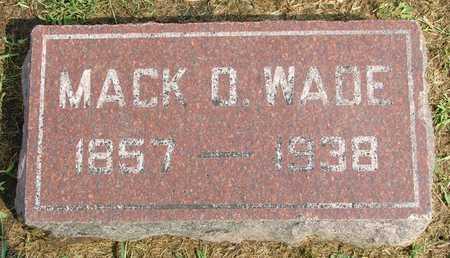 WADE, MACK DOUGLAS - Jasper County, Iowa | MACK DOUGLAS WADE