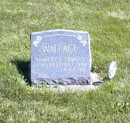 WALLACE, FRANCES - Jasper County, Iowa | FRANCES WALLACE