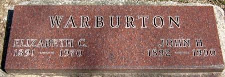 WARBURTON, JOHN HIGGINS - Jasper County, Iowa   JOHN HIGGINS WARBURTON