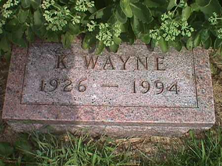 WEIDEMAN, KENNETH WAYNE - Jasper County, Iowa | KENNETH WAYNE WEIDEMAN