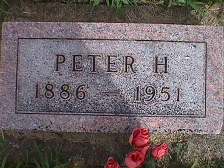 WEIDEMAN, PETER H. - Jasper County, Iowa | PETER H. WEIDEMAN