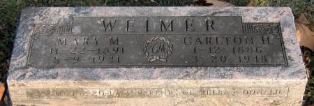 MCNEW WEIMER, MARY MAGDELEN - Jasper County, Iowa   MARY MAGDELEN MCNEW WEIMER