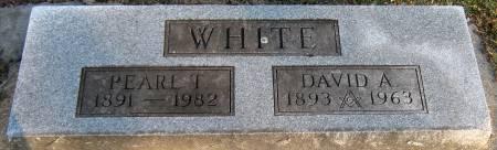 WHITE, DAVID ALFRED - Jasper County, Iowa | DAVID ALFRED WHITE