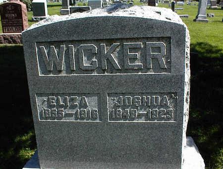 WICKER, JOSHUA - Jasper County, Iowa | JOSHUA WICKER