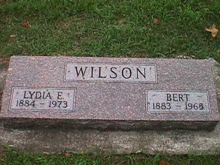 WILSON, LYDIA EMMA - Jasper County, Iowa | LYDIA EMMA WILSON