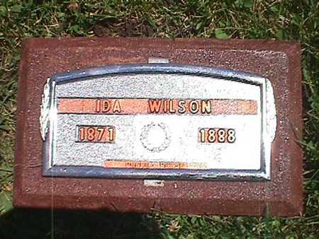 WILSON, IDA - Jasper County, Iowa | IDA WILSON