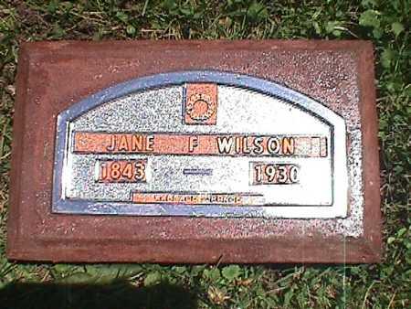WILSON, JANE - Jasper County, Iowa | JANE WILSON