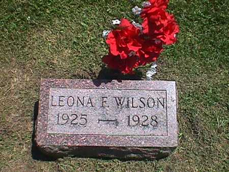 WILSON, LEONA FERN - Jasper County, Iowa   LEONA FERN WILSON
