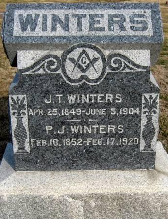 WINTERS, J.T. - Jasper County, Iowa | J.T. WINTERS