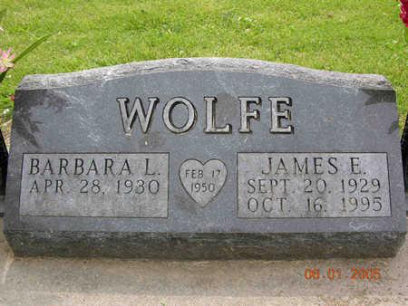 WOLFE, BARBARA - Jasper County, Iowa | BARBARA WOLFE
