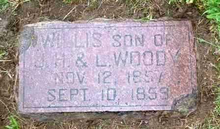 WOODY, WILLIS - Jasper County, Iowa | WILLIS WOODY