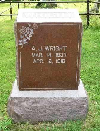 WRIGHT, ANDREW JACKSON - Jasper County, Iowa | ANDREW JACKSON WRIGHT