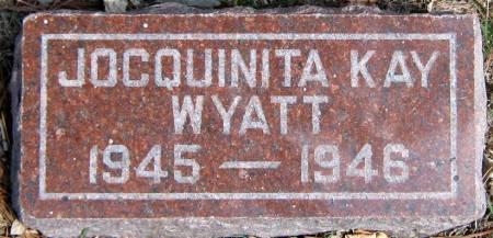 WYATT, JOCQUINITA KAY - Jasper County, Iowa | JOCQUINITA KAY WYATT