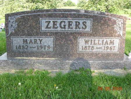 ZEGERS, MARRETJE - Jasper County, Iowa | MARRETJE ZEGERS