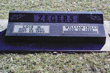 PRICE ZEGERS, LOIS MAY - Jasper County, Iowa | LOIS MAY PRICE ZEGERS