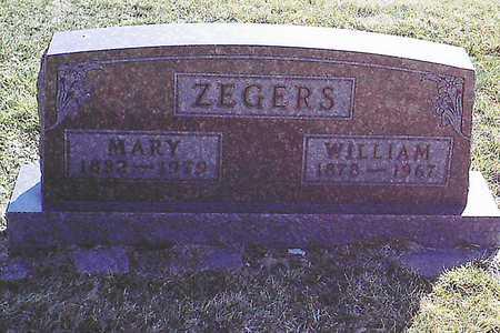 VAN KOLFSCHOTEN ZEGERS, MARRETJE 'MARY' - Jasper County, Iowa   MARRETJE 'MARY' VAN KOLFSCHOTEN ZEGERS