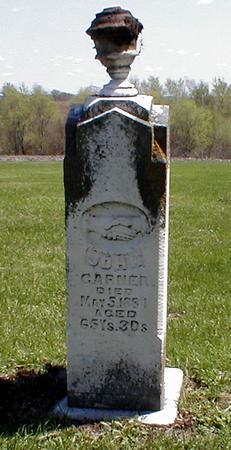GARNER, JOHN - Jasper County, Iowa   JOHN GARNER
