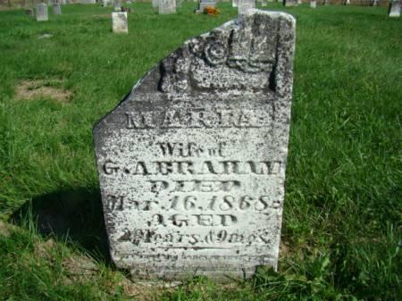 WILSON ABRAHAM, MARIA - Jefferson County, Iowa | MARIA WILSON ABRAHAM